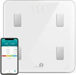 1byone Digital Scales Weight and Body Fat Scale, Bluetooth B
