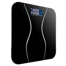 396lb LCD Digital Bathroom Body Weight Scale Tempered Glass