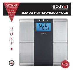 Taylor 5780F Stainless Steel BIA Scale: Bodyfat, Bodywater,