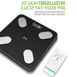 Bluetooth Electric Scales Body Anaylsis Fat Muscle BMI Monit