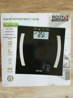Taylor Body Composition Scale. Up To 400 Lbs. New. Box opene