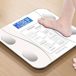 Body Fat Scale Bathroom Wireless Weight Scale Easy-to-Read F