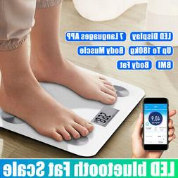 Body Fat Scale For Android or IOS Digital LED Digital Weight