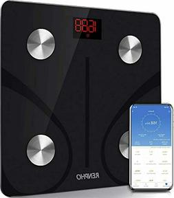 RENPHO Body Fat Scale Smart BMI Scale Digital Bathroom Wirel