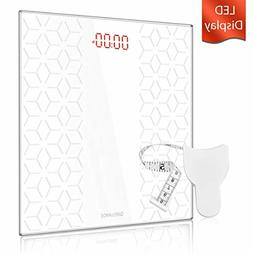 Digital Electronic Scales for Body Weight Bathroom Scale wit