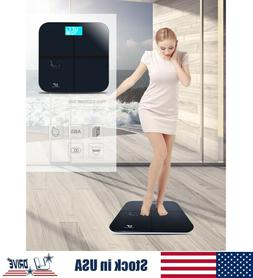 Electronic Digital Bathroom Scale Glass Body Weight Scale 39