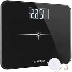 NUTRI FIT Extra-Wide Ultra-Thick Digital Body Weight Bathroo