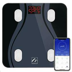 FITINDEX Smart Bluetooth Body Fat Scale with Upgraded App, H