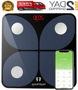 Healthkeep Scales for Body Weight, Bathroom Weight Scale Sma