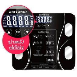 Home Bathroom Digital Weight Scales Smart Body Fat BMI Healt