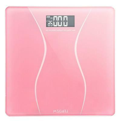 Bathroom Scales 180KG Digital Personal Body Scale Weight LCD