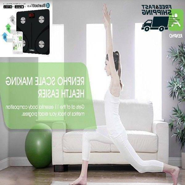 Bathroom Bluetooth Wireless Body Fat Scales Most Accurate