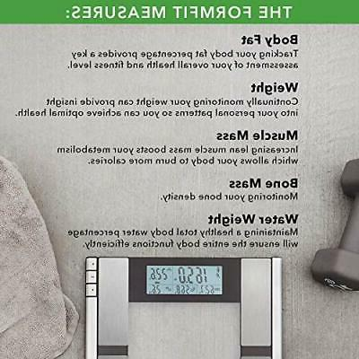 Vitagoods Form Scale and Fat, Weight,