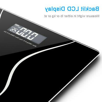 Digital Electronic LCD Glass Weight Weighing Scale
