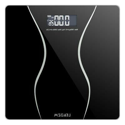 LCD Personal Glass Body Weight Weighing