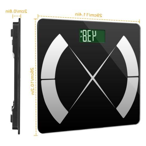 Body Composition Fat Scale Digital Weight Scale