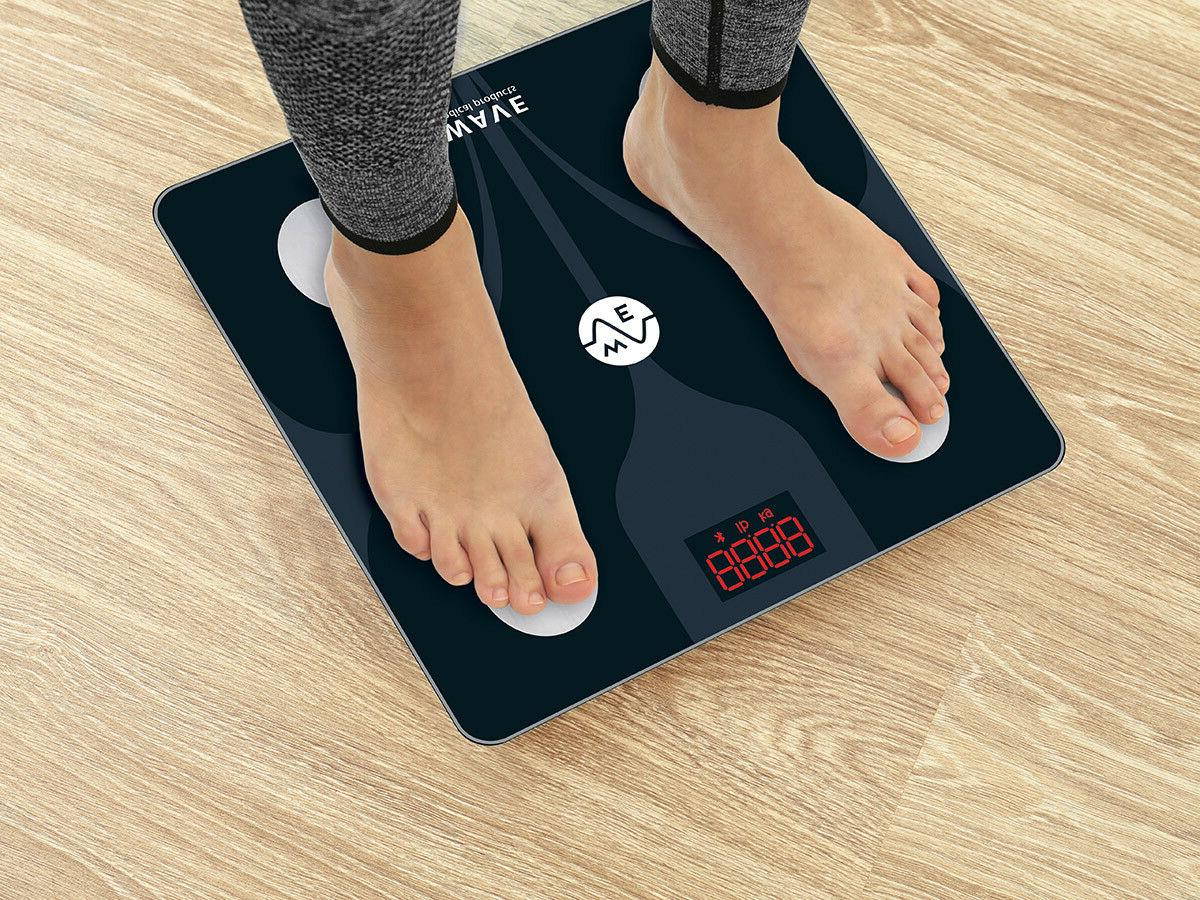 WAVE MEDICAL Advanced Bluetooth Smart Fat Scale