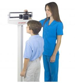 New Physician Scale - 400 lb. Weight Capacity with Height Ro
