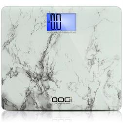 iDOO Digital Bathroom Scale Ultra Wide Heavy Duty Precision