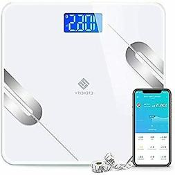 Scale Digital Weight and Body Fat, Smart Bathroom Fitbit Sca