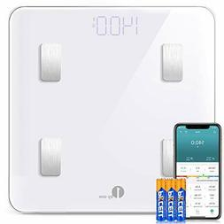 1byone Scales Digital Weight and Body Fat Scale Smart BMI Sc