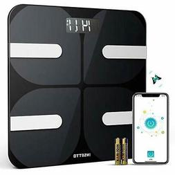 Smart Bathroom Scale with BMI and Body Fat, 11.8 inch Most A