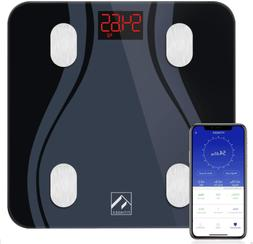 FITINDEX Smart Bluetooth Body Fat Scale Body Composition Mon